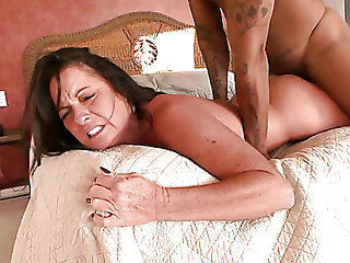 Still hot like fire busty cougar Ms Debbie gets her twat nailed doggy