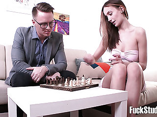 Highly emotional doggy fuck suits perfectly well to please Hazel Dew